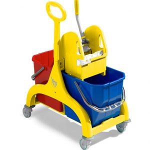 carrello-nick-doppio-50-lt-giallo